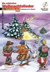 Die schönsten Weihnachtslieder für Klarinette. Mit CD