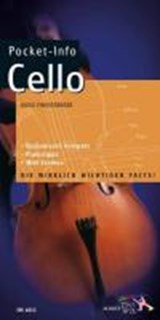 Pocket-Info. Cello | Hugo Pinksterboer |