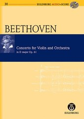 Concerto for Violin and Orchestra in D Major / D-Dur Op.