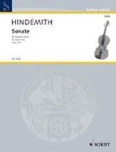 Sonate. für Bratsche allein. op. 25/1. Viola.