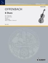 6 Duos. 1. bis 3. Lage. Band 2. op. 50. 2 Violoncelli.