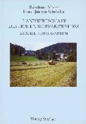 Landwirtschaft des Hohen Schwarzwaldes. Beispiel Hinterzarten