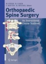 Orthopaedic Spine Surgery | W. Kafer |