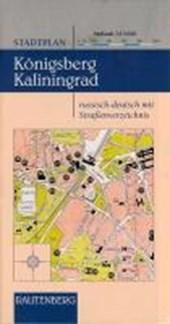 Stadtplan Königsberg Kaliningrad 1 :