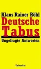 Deutsche Tabus