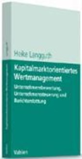 Kapitalmarktorientiertes Wertmanagement