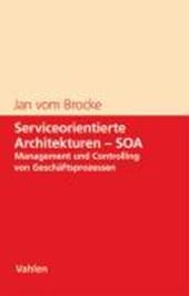 Serviceorientierte Architekturen - SOA