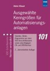 Ausgewählte Kenngrößen für Automatisierungsanlagen