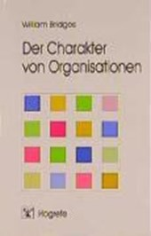 Der Charakter von Organisationen