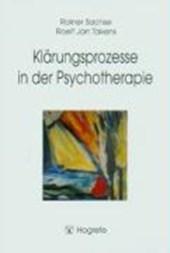 Klärungsprozesse in der Psychotherapie