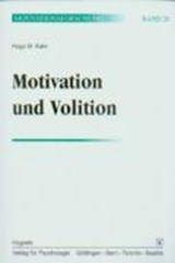 Motivation und Volition. (Bd. 20) | Hugo M. Kehr |