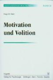 Motivation und Volition. (Bd. 20)