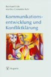Kommunikationsentwicklung und Konfliktklärung