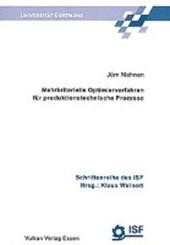Mehrkriterielle Optimierverfahren für produktionstechnische Prozesse