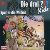 Die drei ??? Kids 19. Spur in die Wildnis (drei Fragezeichen) CD