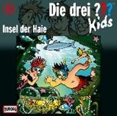 Die drei ??? Kids 41. Insel der Haie (drei Fragezeichen) CD
