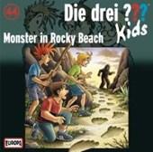 Die drei ??? Kids 44. Monster in Rocky Beach (drei Fragezeichen) CD