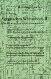 Ägyptisches Wörterbuch 2