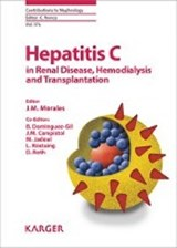 Hepatitis C in Renal Disease, Hemodialysis and Transplantation | auteur onbekend |