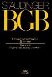 BGB Einleitung zum Sachenrecht §§ 854-882. Sachenrecht