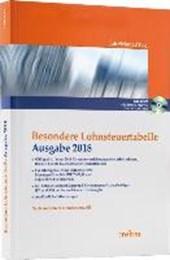 Besondere Lohnsteuertabelle 2018 - Jahr/Monat/Tag