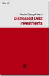 Distressed Debt Investments