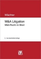 M&A Litigation | Gerhard H. Wächter |