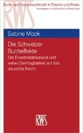 Die Schweizer Bucheffekte