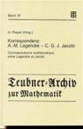 Korrespondenz Adrien-Marie Legendre -- Carl Gustav Jacob Jacobi