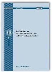 Tragfähigkeit von Schraubfundamenten unter statischer und zyklischer Last. Abschlussbericht