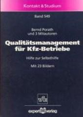 Qualitätsmanagement für Kfz-Betriebe