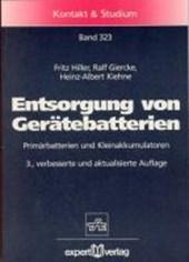 Entsorgung von Gerätebatterien