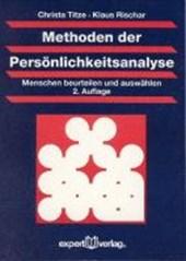 Methoden der Persönlichkeitsanalyse