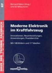 Moderne Elektronik im Kraftfahrzeug