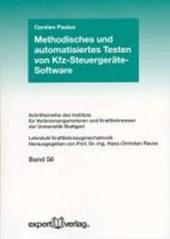 Methodisches und automatisiertes Testen von Kfz-Steuergeräte-Software