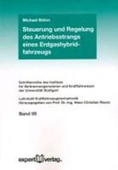 Steuerung und Regelung des Antriebsstrangs eines Erdgashybridfahrzeugs