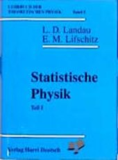 Lehrbuch der theoretischen Physik V. Statistische Physik I