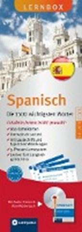 Lernbox Spanisch - Die 1500 wichtigsten Wörter