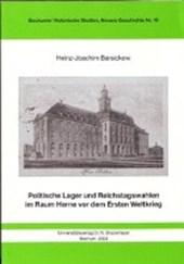 Politische Lager und Reichstagswahlen im Raum Herne vor dem ersten Weltkrieg