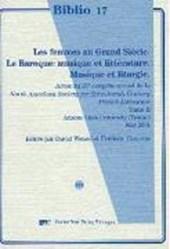 Les femmes au Grand Siècle/Le Baroque: musique et littérature/Musique et liturgie