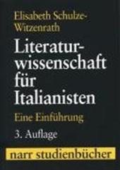 Literaturwissenschaft für Italianisten