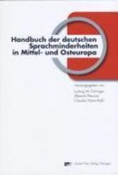 Handbuch der deutschen Sprachminderheiten in Mittel- und Osteuropa