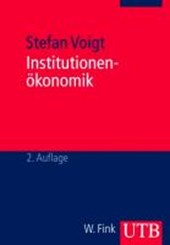 Institutionenökonomik | Stefan Voigt |