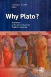 Why Plato?