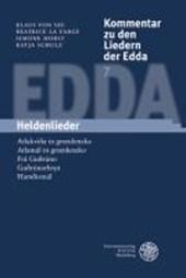 Kommentar zu den Liedern der Edda. Heldenlieder