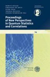 Proceedings of New Perspectives in Quantum Statistics and Correlations |  |
