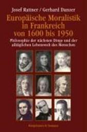Europäische Moralistik in Frankreich von 1600 bis