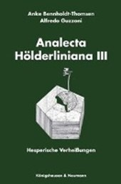 Analecta Hölderliniana III