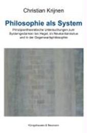 Philosophie als System