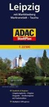 ADAC StadtPlan Leipzig mit Markkleeberg, Markranstädt, Taucha 1:22